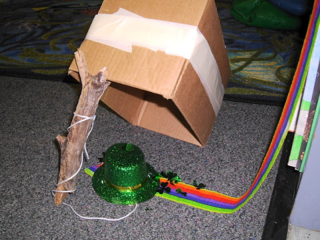 First Grade Leprechaun Trap Image