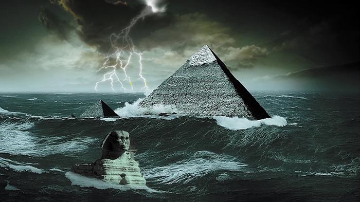 Οι Πυραμίδες και η Σφίγγα χτίστηκαν πριν από τον κατακλυσμό!!