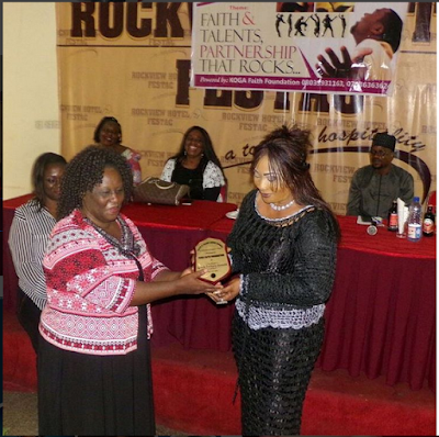 Actress Turned Prophetess, Eucharia Anunobi Bags First Award In Ministerial Duty