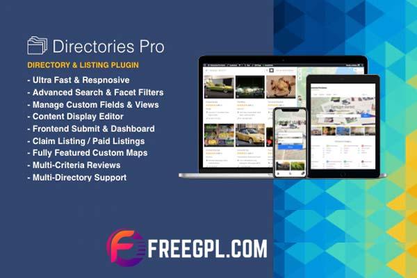 Directories Pro Plugin for WordPress Free Download