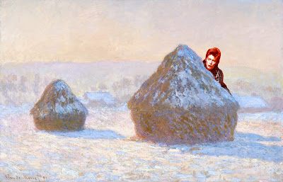 Want people to care about Monet's haystacks? Add a little Bowie!