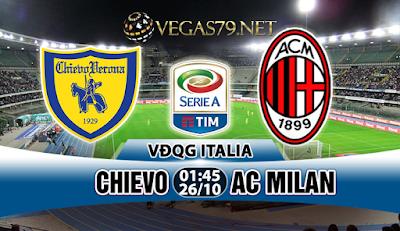 Nhận định, soi kèo nhà cái Chievo vs AC Milan