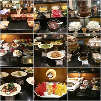 Taman Sari Restaurant, Buffet Food Photos, Hotel Istana, International Cuisine