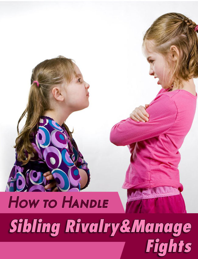 How to Handle Sibling Rivalry & Manage Fights