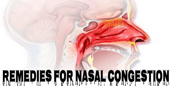 my nasal congestion won't go away