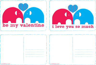 Free Valentine's Day Cards Printable