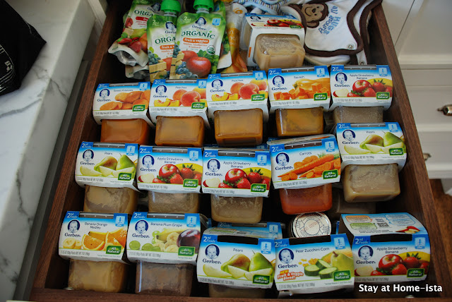 What to do with extra baby food