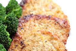 Baked Garlic Parmesan Pork Chops