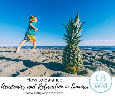 How to Balance Academics with Relaxation in Summer