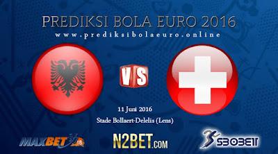 PREDIKSI BOLA EURO HARI INI ALBANIA VS SWITZERLAND 11 JUNI 2016