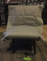odnawianie starego fotela
