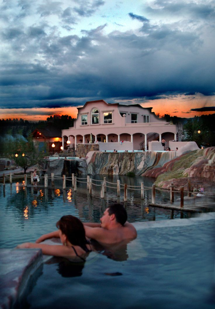 Pagosa Springs Resort near Durango, Colorado, USA