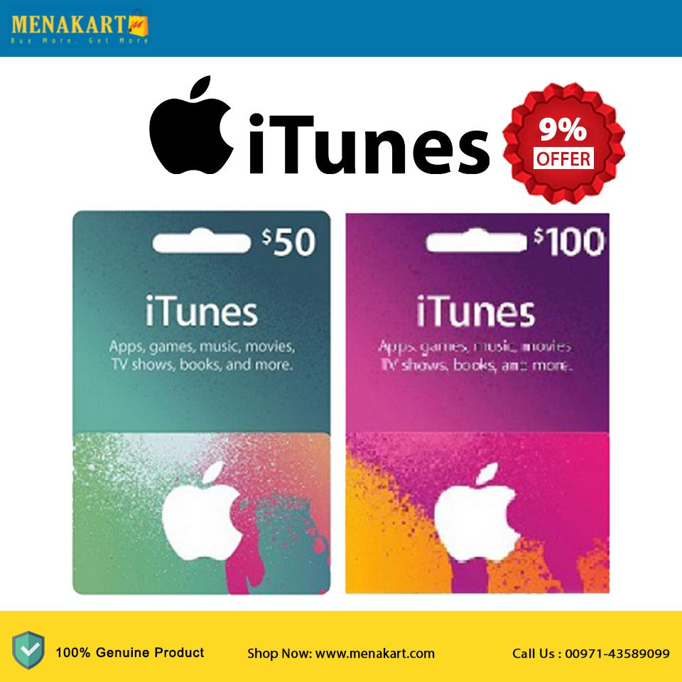 Online Shopping in Dubai: Shop USA iTunes Gift Cards Online