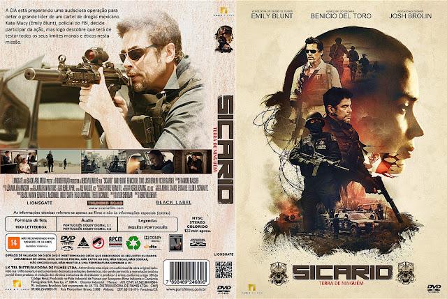 Capa DVD Sicario Terra De Ninguém