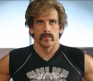 Ben Stiller Horseshoe Moustache