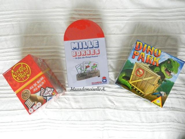 || Joyeux Noël et Anniversaire ! - Idées cadeaux fille 10 ans et garçon 9 ans Jungle Speed Mille Bornes Dino Park