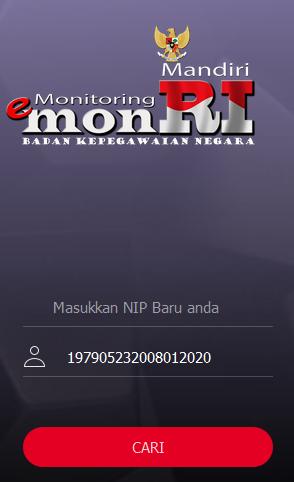 Cek Data PNS di apps.bkn.go.id