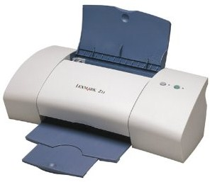 color printer provides crisp black text at as much as  Lexmark Z23 Driver Printer Download