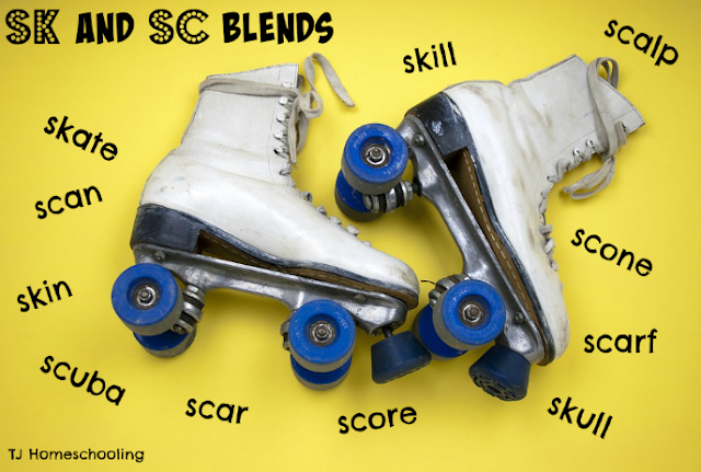 sk and sc beginning blends