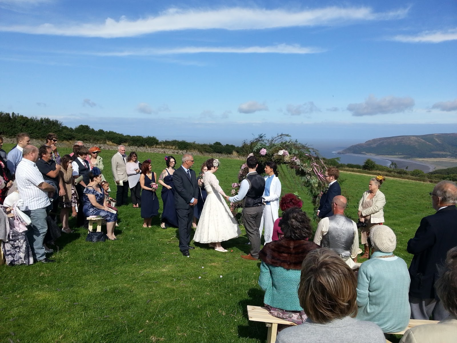 Theatre of Dreams: A Country Wedding, very romantic ...