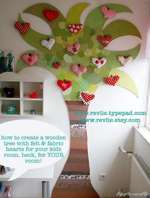 copac decorativ in camera copilului
