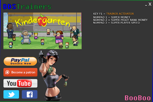 Kindergarten Trainer and Cheats for PC
