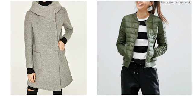 winter coats, fashion, zara, ASOS