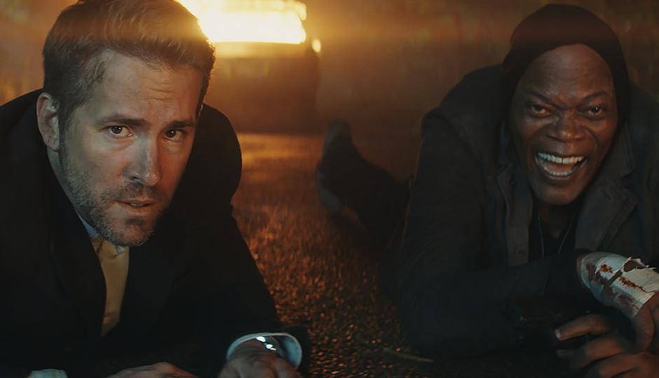 "Trailer inédito de ""Dupla Explosiva"" reúne Samuel L. Jackson e Ryan Reynolds"