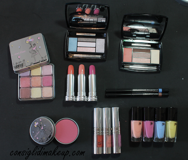 Swatches & Review Collezione From Lancome With Love - Lancome