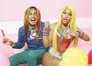 6ix9ine FeFe Feat Nicki Munaj