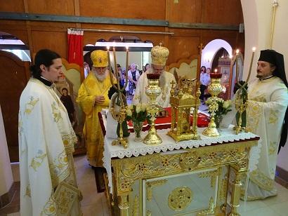 ИПЦ Греции: Престольный Праздник Свт. Николая Чудотворца в Австралии