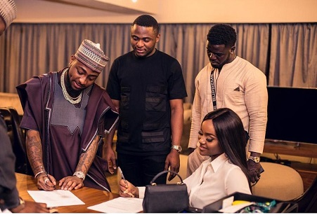 Davido Secures Cooking Show For Chioma - Photos