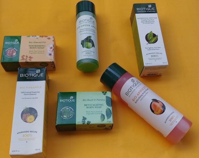 Biotique Botanicals products reviews