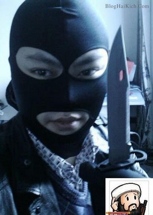 Đàn ông giả làm Ninja
