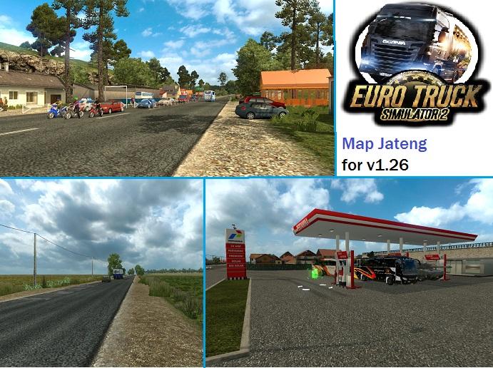 MOD Map Jateng (Jawa Tengah) ETS 2