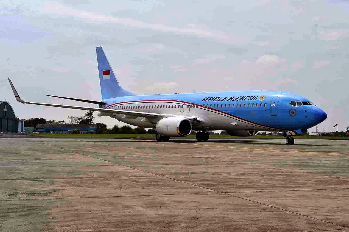 Perawatan Pesawat Kepresidenan Indonesia Ditangani GMF ...