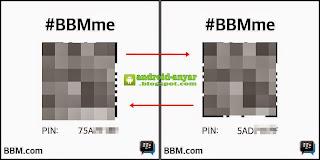 Cara Mudah Ganti PIN BBM Android dengan awalan angka 5