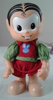 boneca Mônica bambolê