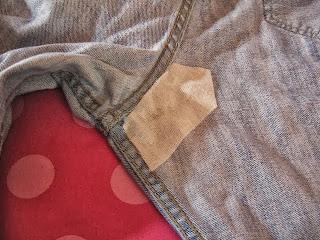 Kot Pantolonda Yırtık Onarma