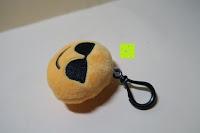 """cool Seite: Smakey®2""""mini Emoji Gesicht Express Plüsch Spielzeug Schlüssel Kette Tasche Zubehör Satz von 7"""