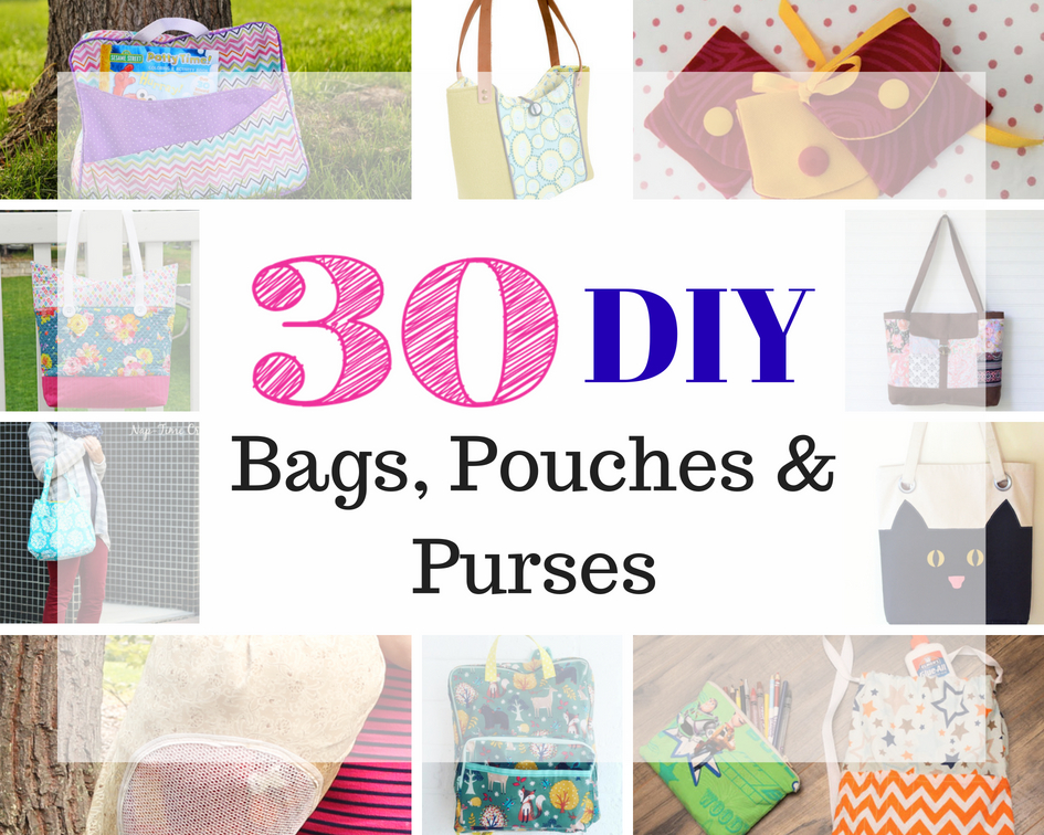 30+ Sewing Patterns for Bags, Pouches, Purses and Wallets - GYCT Designs