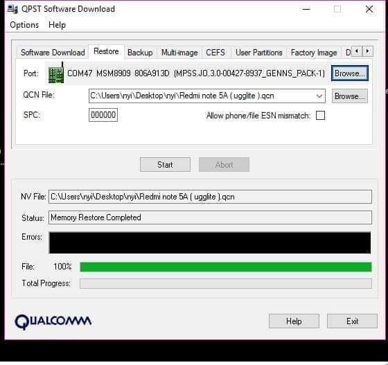 Redmi note 5A IMEI 0 Repair - KoZaw Mobile & IT နည်းပညာ