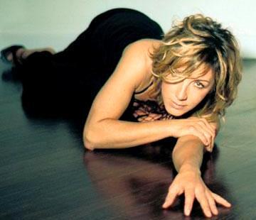 Foto de Ana Torroja en el piso