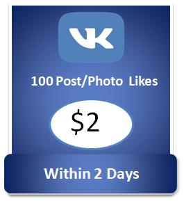 100 buy Vkontakte Post Likes