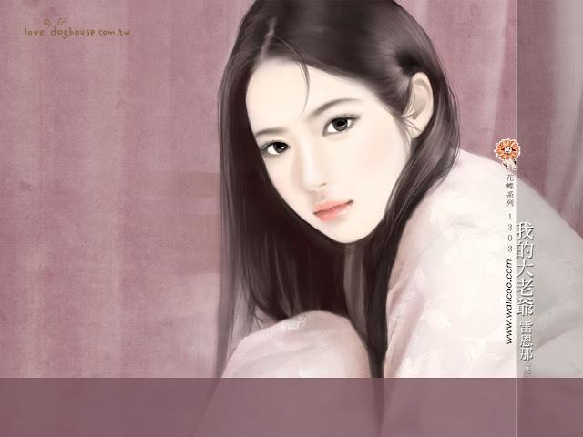 Chicas Chinas Lindas Wallpapers parte 1 - Licena Hill
