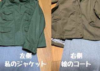 ©さんがつ日記 ミリタリージャケット