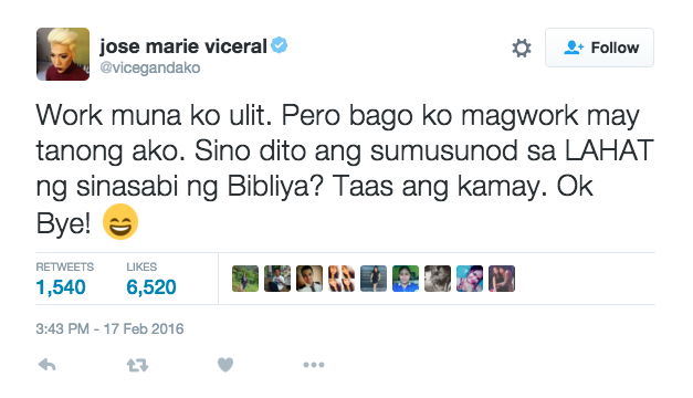 Joey de Leon vs. Vice Ganda again, because of Manny's issue? Find out here!