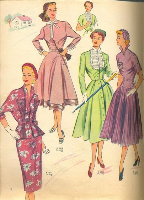 Fotograf a de moda de los a os 40 a los 60 a os 50 for Mobilia anos 40