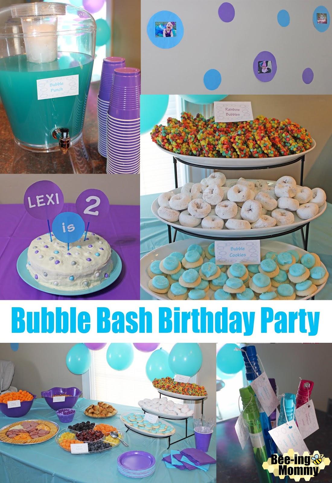 Bubble Bash Birthday Party