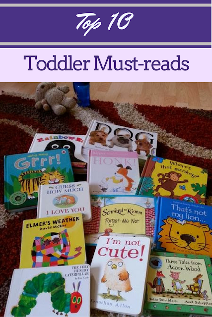 Top 10 Toddler must-reads